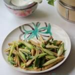青蒜炒豆干(零厨艺快手菜)