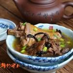 榛蘑炖鸡腿汤
