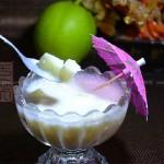 酸奶酥梨杯