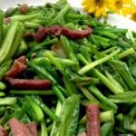 火腿爆海菜