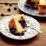 藍莓爆漿戚風蛋糕(六寸2蛋完美戚風)