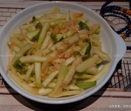 尖椒虾皮炒西瓜皮