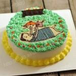 父女亲情生日蛋糕(生日蛋糕)