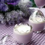 椰奶紫薯布丁(甜品点心)