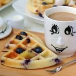 爆浆蓝莓松饼(下午茶)