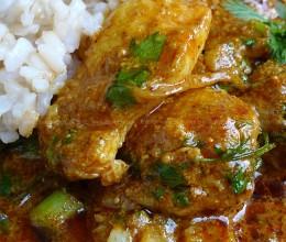 印式咖喱鱼盖饭