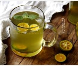 青柠檬薄荷冰饮