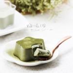 低脂抹茶豆腐布丁
