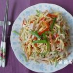 五丝荟萃豆腐皮(夏季凉拌菜)