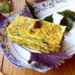 紫苏虾米煎蛋