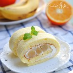 奶油水果小山卷(甜點大師配方)