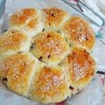 蔓越莓花朵面包(早餐菜谱)