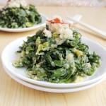 蒸芹菜叶(清蒸菜)