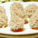 水晶糯米肉丸(清蒸菜)