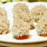 水晶糯米肉丸