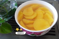 糖水黄桃甜蜜蜜