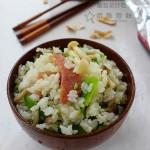 菌菇菜炒饭(早餐菜谱)