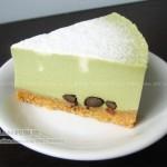 抹茶蜜豆重芝士蛋糕(甜品点心)