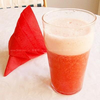 清爽草莓汁