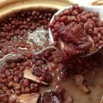 砂锅红豆腊排骨