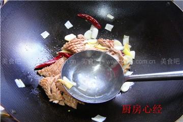 腰花炒虾仁
