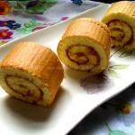 原味肉松蛋糕卷(甜品点心)