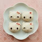 Kitty草莓奶冻(夏日甜品)