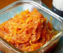 橙皮柚子酱