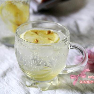 雪碧柠檬醋饮