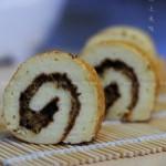 肉松蓝莓酱蛋糕卷(甜品点心)