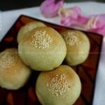 茶香绿豆沙月饼、茶香绿豆酥饼(中式酥皮的折酥方法)