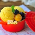 芒果冰淇淋(甜品点心)