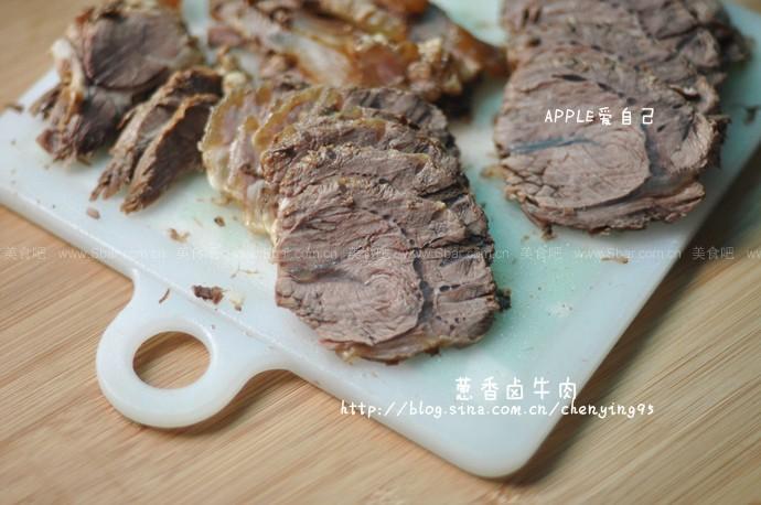 葱香卤牛肉