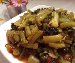 自制水腌菜