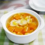 玉米南瓜百合甜汤(袪湿补气)