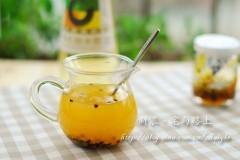 百香果醋饮