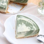 低脂抹茶豆腐冻芝士蛋糕(甜品点心)