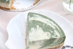 低脂抹茶豆腐冻芝士蛋糕