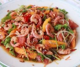 泰式芒果虾沙拉