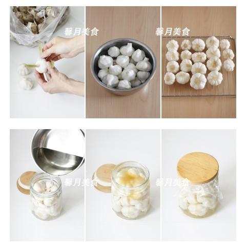 自制水晶糖蒜