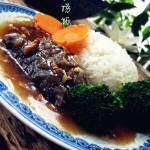 肉末海参捞饭(活海参的泡发)