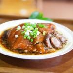 糯米蹄髈(清蒸菜)