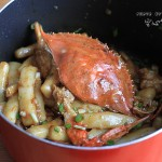 螃蟹炒年糕(早餐菜谱)