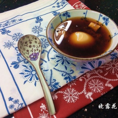 老红糖甜酒煮鸡蛋