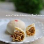 苏式金丝肉松月饼(中秋美食)