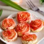 玫瑰苹果卷(甜品点心)