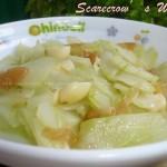 腌冬菜炒黄瓜