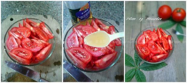 蜂蜜拌西红柿