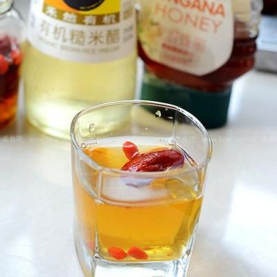 红枣枸杞醋饮