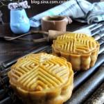 白莲蓉蛋黄月饼(中秋美食)